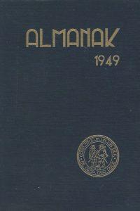 Almanak van het Studentencorps aan de Vrije Universiteit 1949