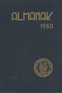 Almanak van het Studentencorps aan de Vrije Universiteit 1950 lustrum
