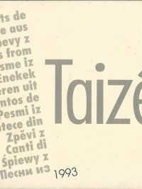 Chants de Taize edition 1993 J. Berthier 2850401285 9782850401282