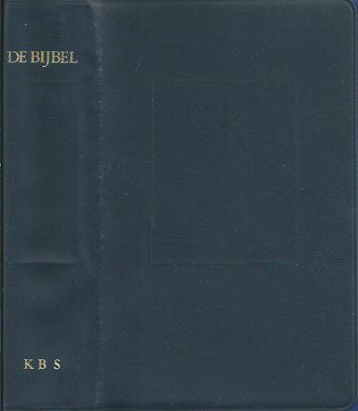 De Bijbel uit de grondtekst vertaald Willibrordvertaling 1988 blauw skai kunstleer Katholieke Bijbelstichting 9061734355 9789061734352
