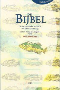 De Bijbel uit de grondtekst vertaald Willibrordvertaling geheel herziene uitgave 1995 De Bijbel op CD ROM 9061739233 9789061739234