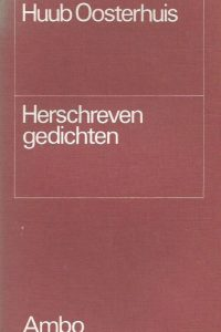 Herschreven gedichten Huub Oosterhuis 9026302266 9789026302268