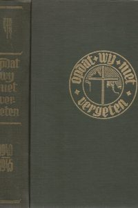 Opdat wij niet vergeten De bijdrage van de Gereformeerde Kerken van haar voorgangers en leden in het verzet tegen het nationaal socialisme en de Duitse tyrannie Th. Delleman