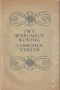 Verboden verzen J.W.F Werumeus Buning stofomslag