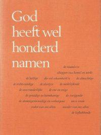 God heeft wel honderd namen Rudolf Walter 9025943160 9789025943165