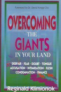 Overcoming the Giants in Your Land-Reginald Klimionok-1560437502-9781560437505