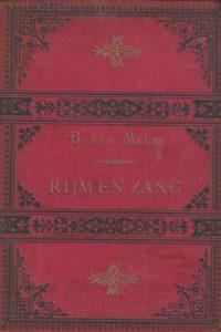Rijm en Zang B. van Meurs zesde druk 1889