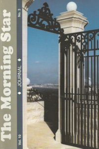 The Morning Star Journal-Volume 10, No. 3-1929371004-9781878327901