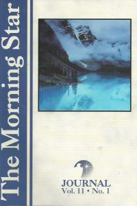The Morning Star Journal-Volume 11-No. 1-1929371039-9781929371037