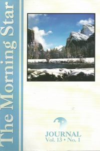 The Morning Star Journal-Volume 13, No. 1-1929371225-9781929371228