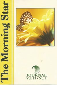 The Morning Star Journal-Volume 15, No. 2-1929371489-9781929371488
