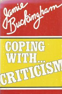 Coping with criticism Jamie Buckingham 0882703277 9780882703275