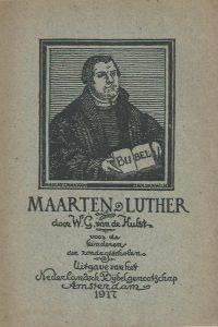 Maarten Luther Vertelling voor Kinderen door W.G. van der Hulst