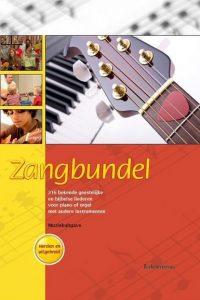 Zangbundel muziekuitgave met 216 bekende geestelijke en bijbelse liederen voor piano of orgel met andere instrumenten Anthony van den Ende 9789023967156