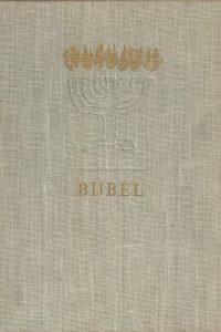 Bijbel Vertaling van het Nederlandsch Bijbelgenootschap Tekeningen van Mart Kempers 1960