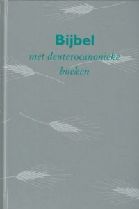 Bijbel met deuterocanonieke boeken vertaling 1951 1995 hand school dc grijs korenaar 9061266521 9789061266525