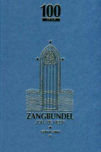 Zangbundel Joh. de Heer 9789074069014 editie 2004