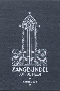 Zangbundel Joh. de Heer 9789074069021 tekstboek editie 2004