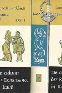 De cultuur der Renaissance in Italie Deel 1 en 2 Jacob Burckhardt Prisma 510 511