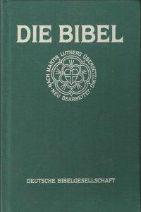 Die Bibel nach der Ubersetzung Martin Luthers 3483011921 1985 Linson grun