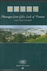Messages From Gods Land of Promise Chuck Swindoll DVD Insight For Living 9781579727369