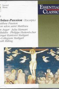Matthäus Passion Excerpts Essential classics 5099704654423